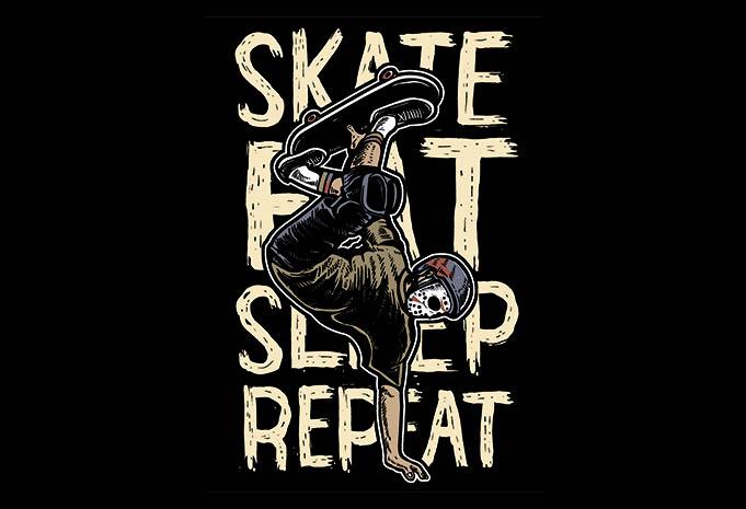 Skate Eat Sleep Repeat buy tshirt design - Skate Eat Sleep Repeatt shirt design buy t shirt design