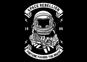 Space Rebellion buy t shirt design