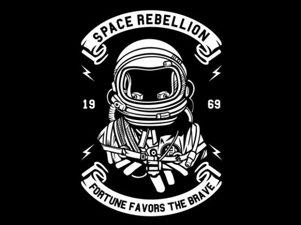 Space Rebellion buy t shirt design