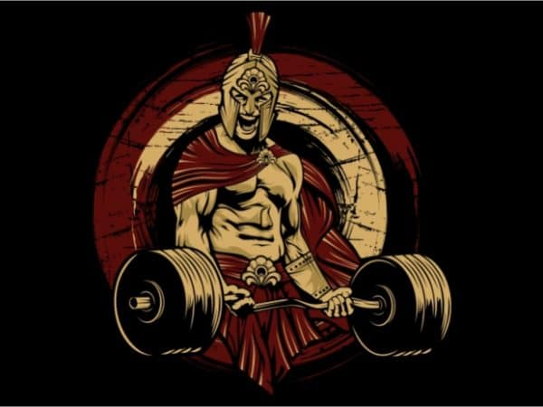 Spartan Gym buy t shirt design