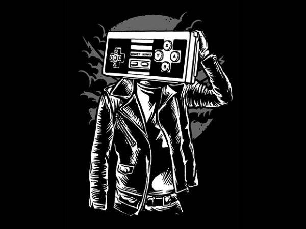 Street Gamers t shirt design