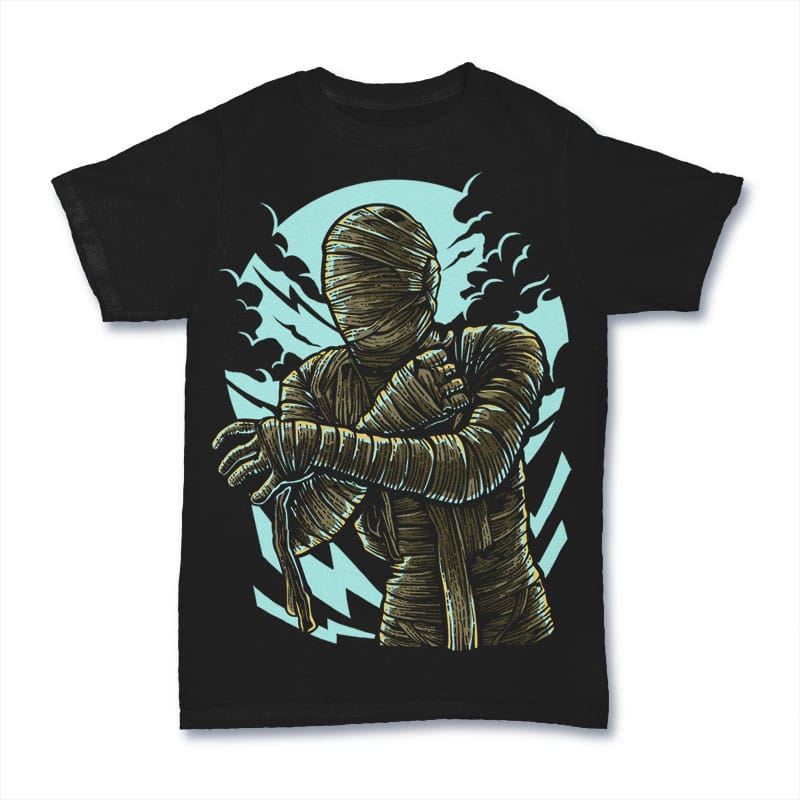 The Mummy t shirt design buy t shirt design