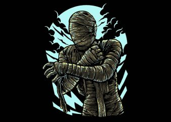 The Mummy t shirt design buy t shirt design