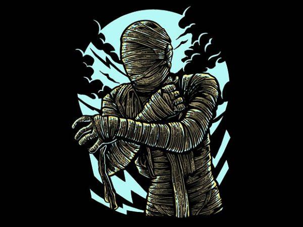 The Mummy t shirt design
