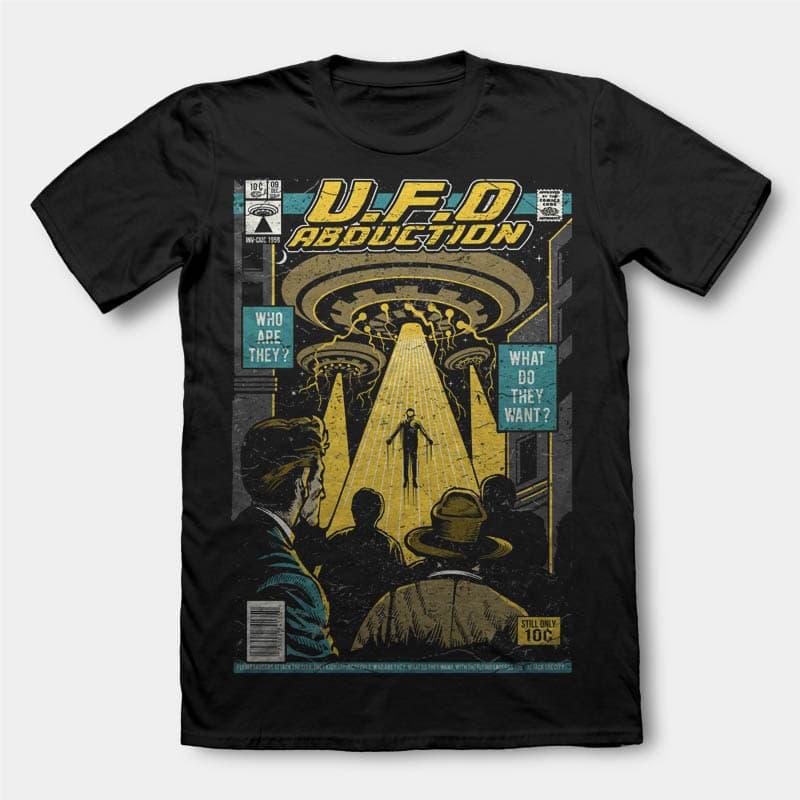 UFO t shirt design buy t shirt design