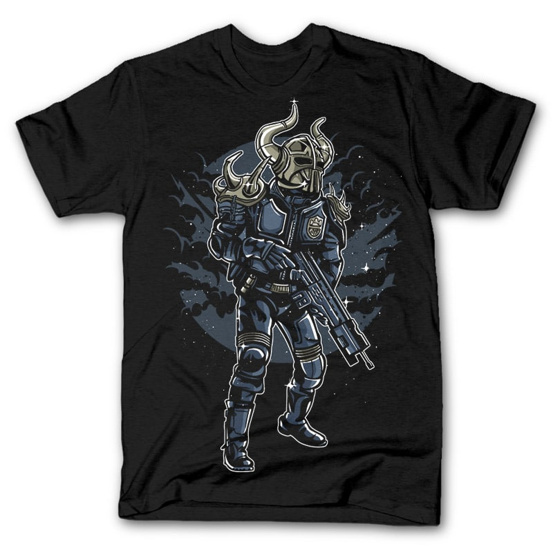 Viking Soldier t shirt design buy t shirt design