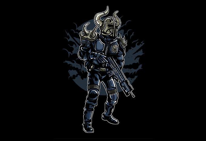 Viking Soldier buy tshirt design - Viking Soldier t shirt design buy t shirt design