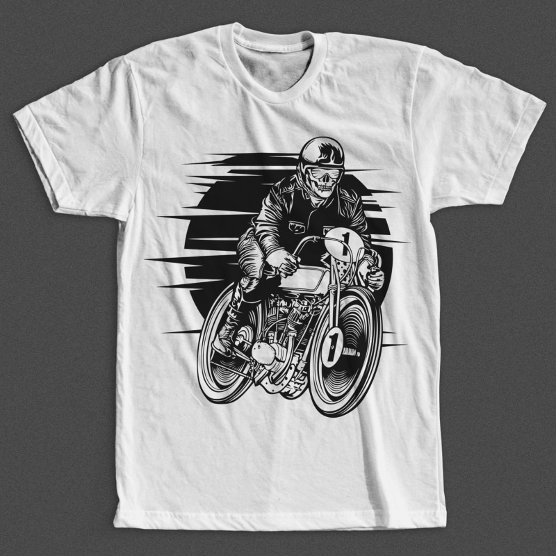 Vintage Racer buy t shirt design