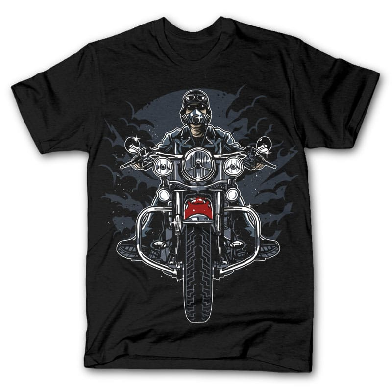 Wild Biker t shirt design buy t shirt design