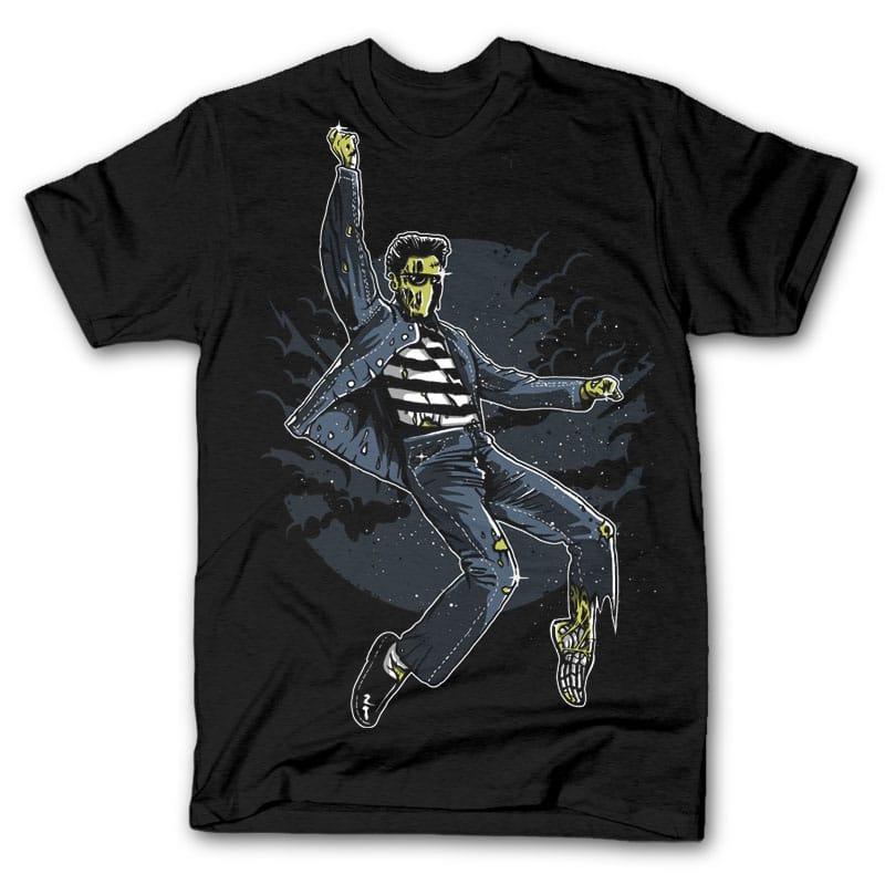 Zombie King t shirt design buy t shirt design