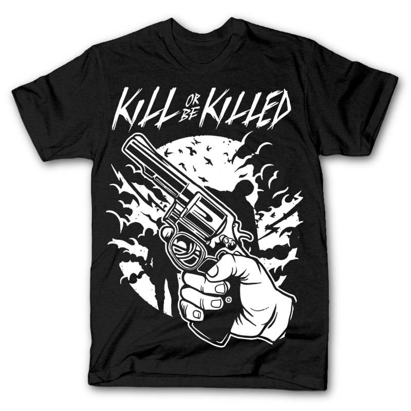 Zombie Shooter t shirt design buy t shirt design