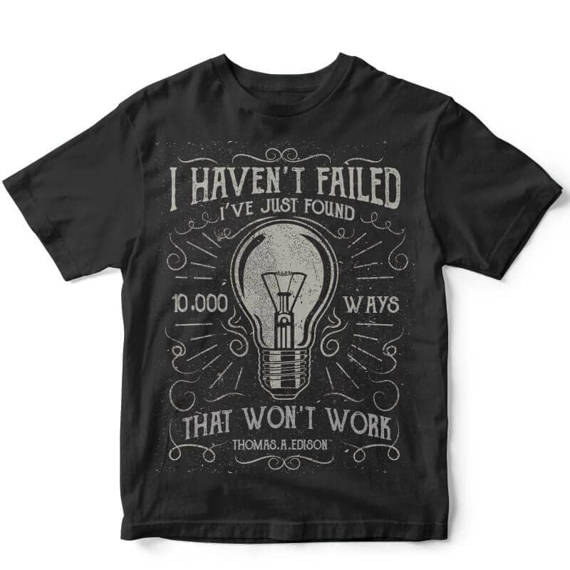 10000 Ways T shirt design buy t shirt design