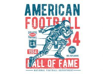 American Football vector t shirt design buy t shirt design