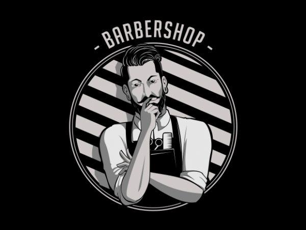 Artwork 600x450 - Barbershop T-Shirt Design buy t shirt design