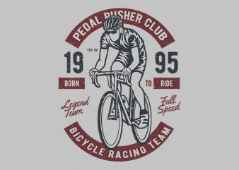 Bicycle Racing Team t shirt design buy t shirt design