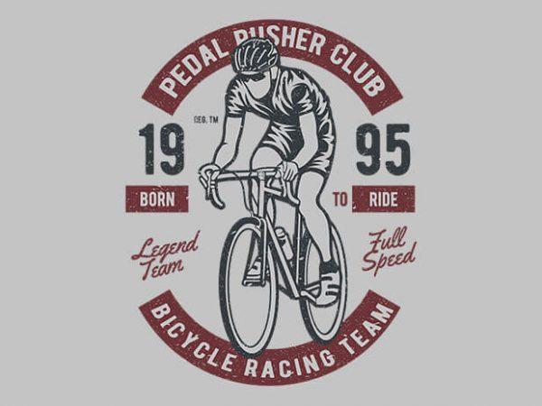 Bicycle Racing Team t shirt design buy t shirt design