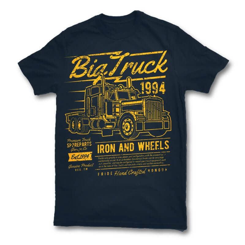 Big Truck 2 vector t shirt design buy t shirt design