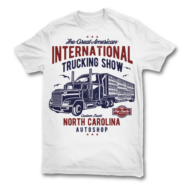 Big Truck t shirt design buy t shirt design