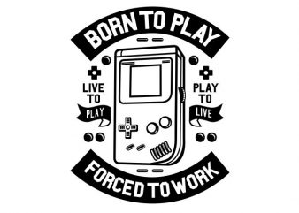 Born To Play buy t shirt design