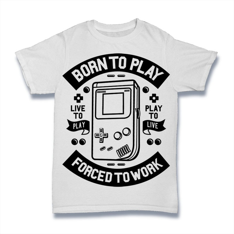 Born To Play buy t shirt design