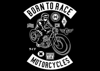Born To Race buy t shirt design