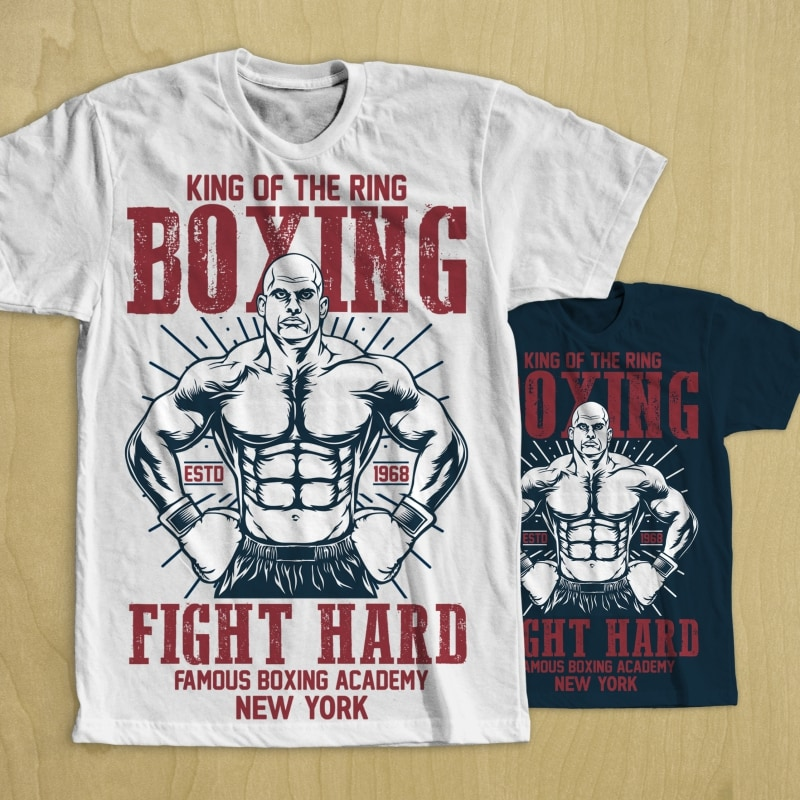 Boxing t shirt design buy t shirt design