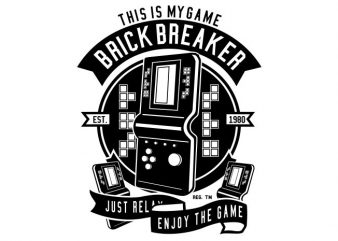 Brick Breaker buy t shirt design
