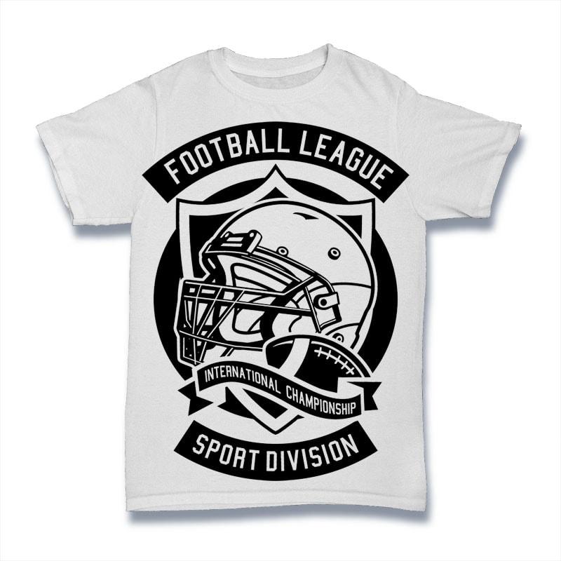 Football League buy t shirt design