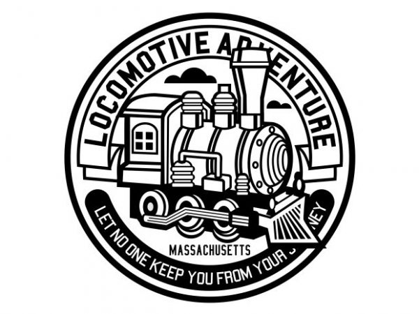 Locomotive Adventure Display 600x450 - Locomotive Adventure buy t shirt design
