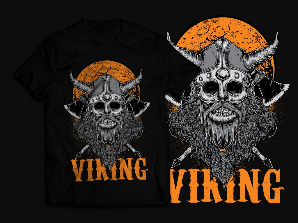 Viking T-Shirt Design buy t shirt design