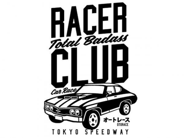 Racer Club t shirt design online