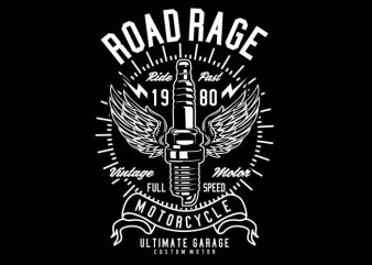 Road Rage t shirt design online