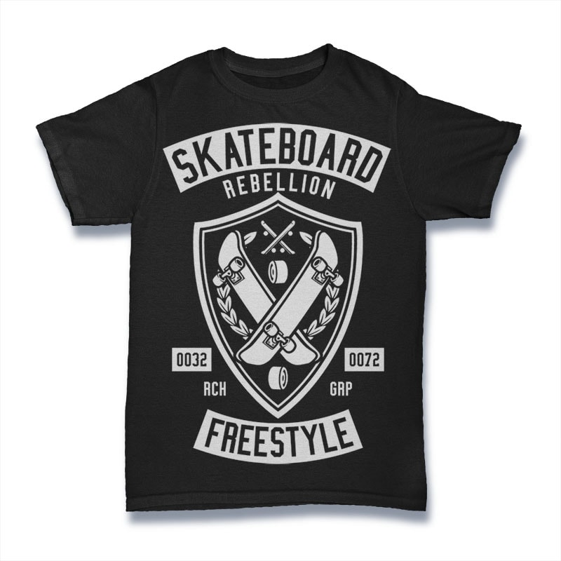 Skateboard Rebellion buy t shirt design