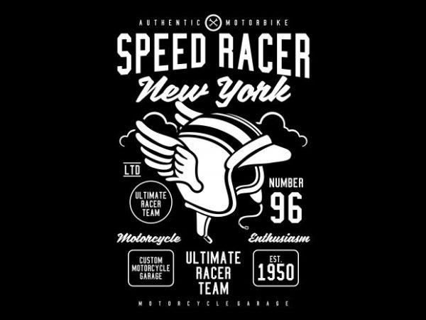 Speed Racer buy t shirt design
