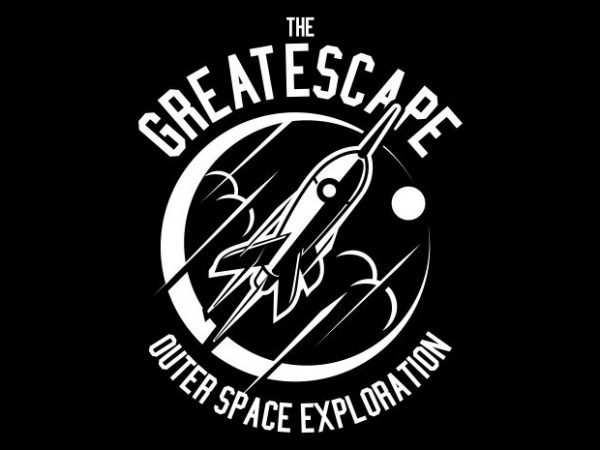 The Great Escape t shirt designs for sale