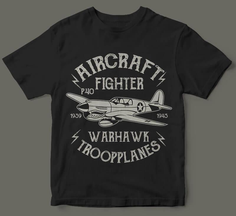 Warhawk vector t shirt design buy t shirt design