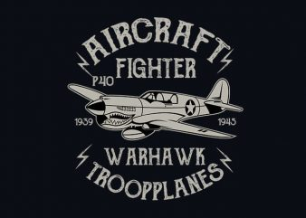 Warhawk vector t shirt design buy t shirt design