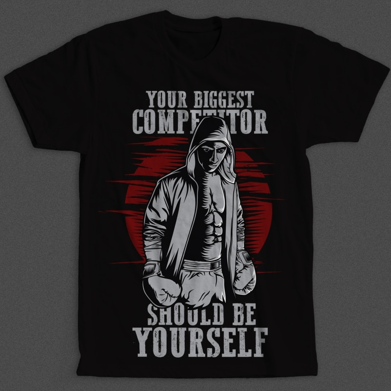 top fashion lowest price best value Your Biggest Competitor t shirt design template