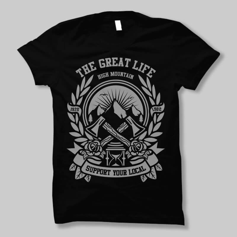 Axe vector t shirt design buy t shirt design