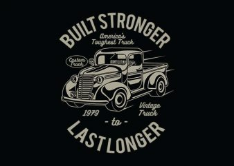 Built Stronger t shirt design buy t shirt design