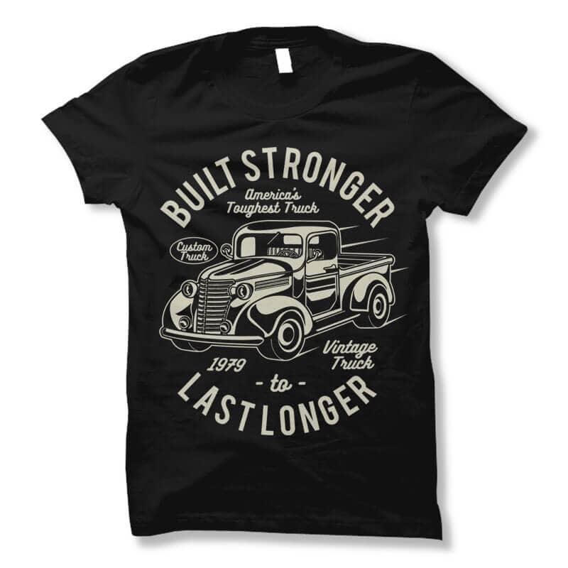 Built Stronger t shirt design buy t shirt design