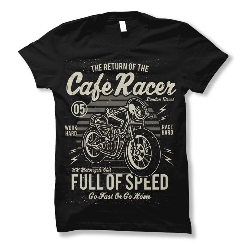 Cafe Racer t shirt design buy t shirt design