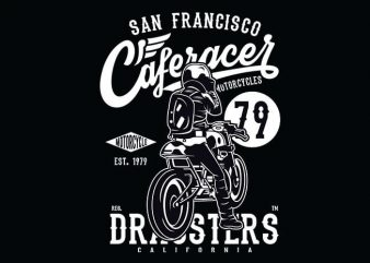 Caferacer79 t shirt design