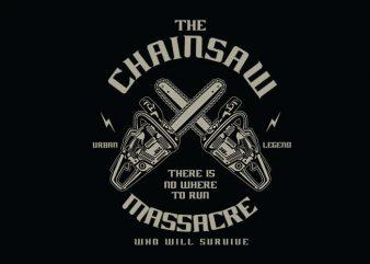 Chainsaw t shirt design buy t shirt design