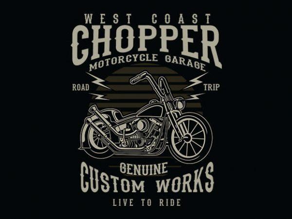 Chopper t shirt design buy t shirt design