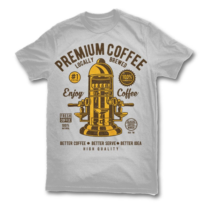 Classic Coffee Maker buy t shirt design