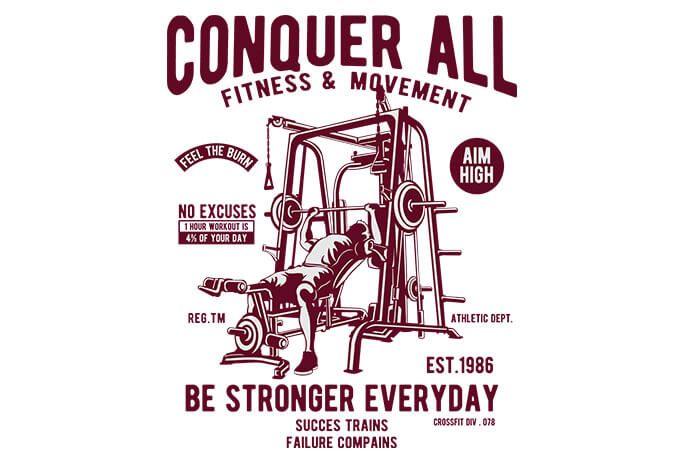Conquer All - Conquer All buy t shirt design