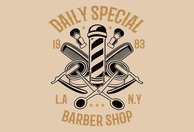 Daily Special Barber Shop - Daily Special Barber Shop t shirt design buy t shirt design
