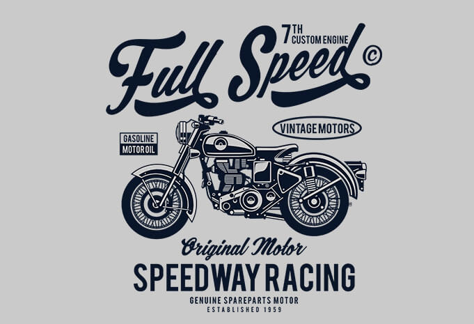 Full Speed - Full Speed t shirt design buy t shirt design