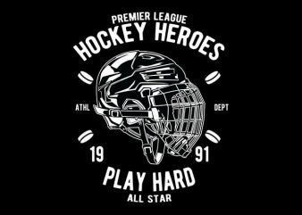 Hockey Heroes tshirt design buy t shirt design